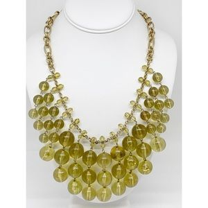 J. Crew Golden Beaded Necklace